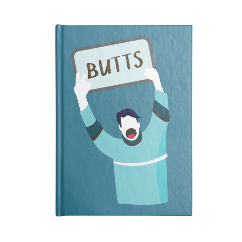Butts Accessories Notebook by Ginger's Shop