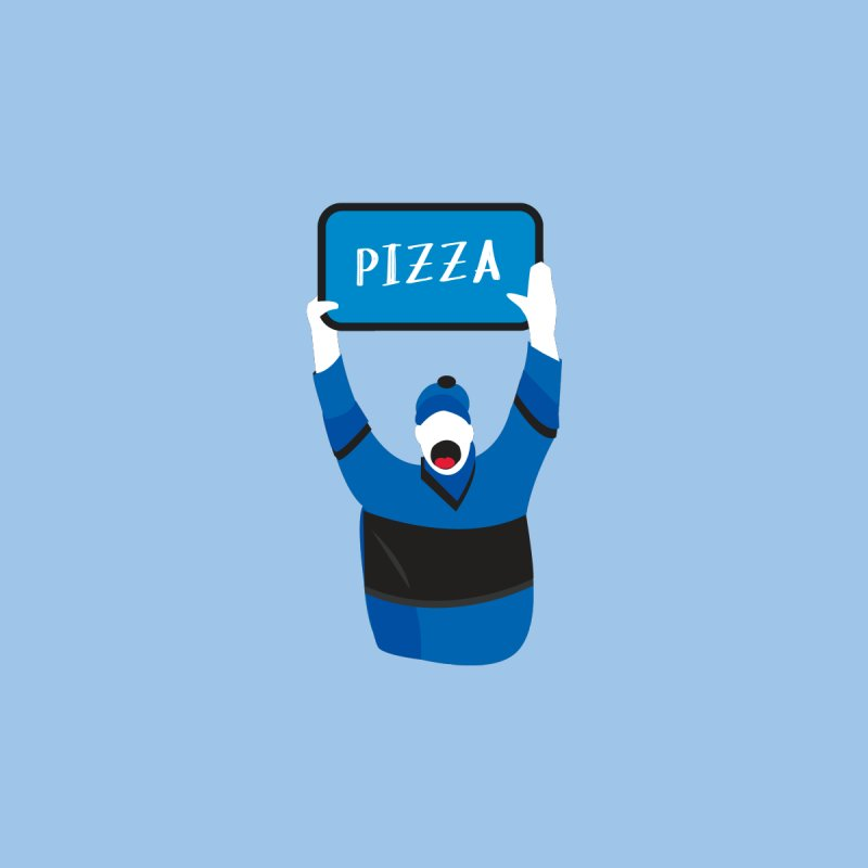 Pizza Men's T-Shirt by Ginger's Shop