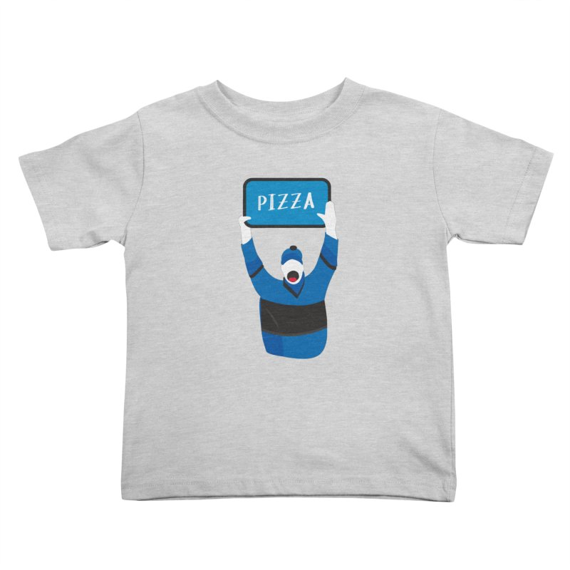 Pizza Kids Toddler T-Shirt by Ginger's Shop