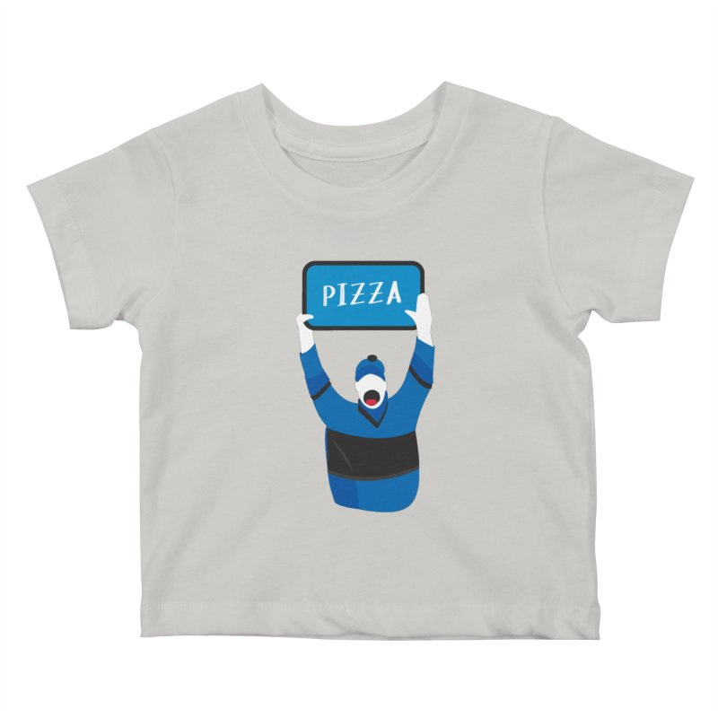 Pizza Kids Baby T-Shirt by Ginger's Shop