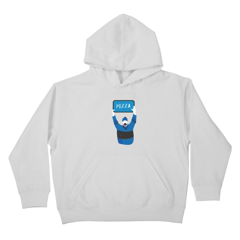 Pizza Kids Pullover Hoody by Ginger's Shop