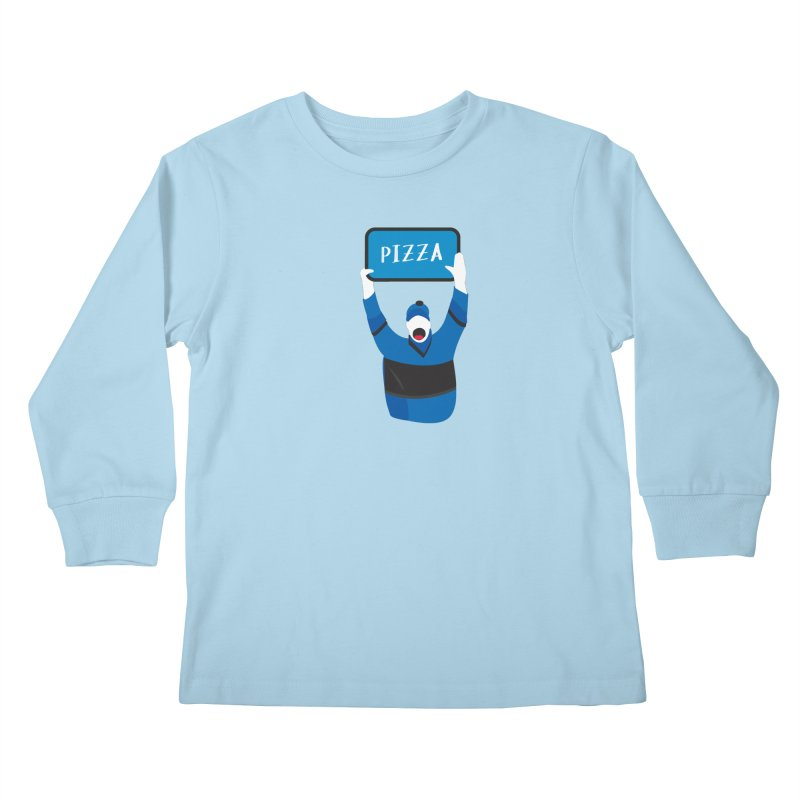 Pizza Kids Longsleeve T-Shirt by Ginger's Shop