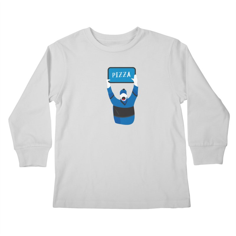 Pizza Kids Longsleeve T-Shirt by Ginger's Shop