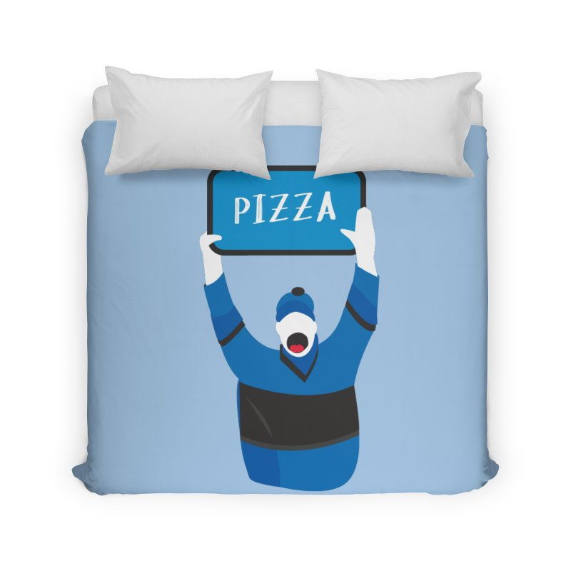 Pizza Home Duvet by Ginger's Shop