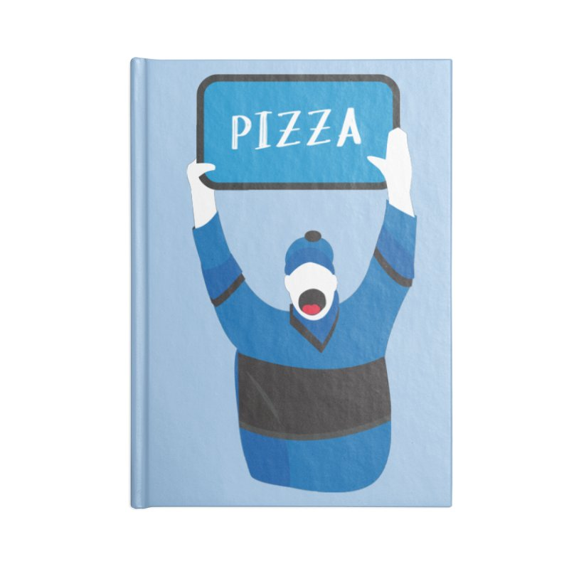 Pizza Accessories Notebook by Ginger's Shop