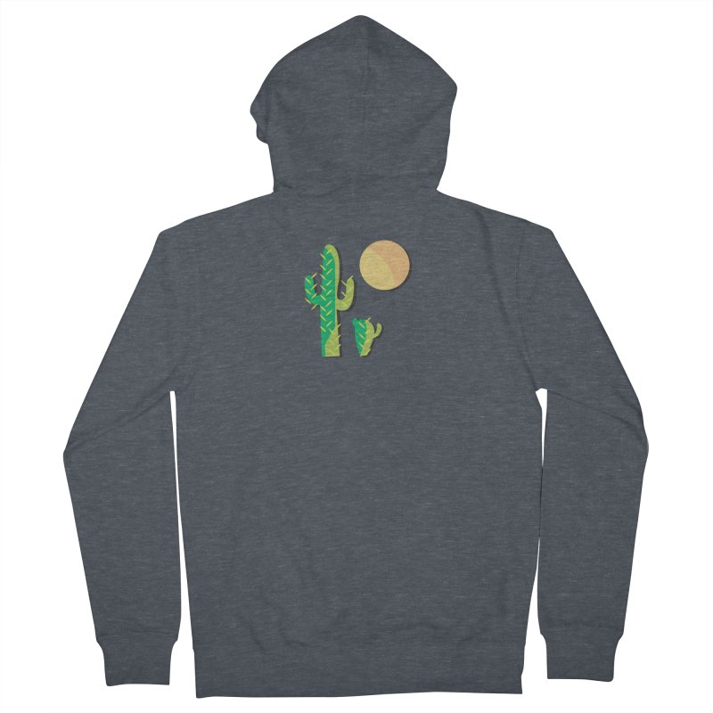 Cactus Women's Zip-Up Hoody by Ginger's Shop