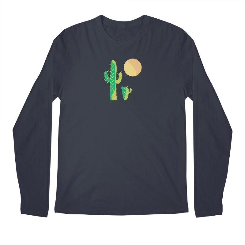 Cactus Men's Longsleeve T-Shirt by Ginger's Shop