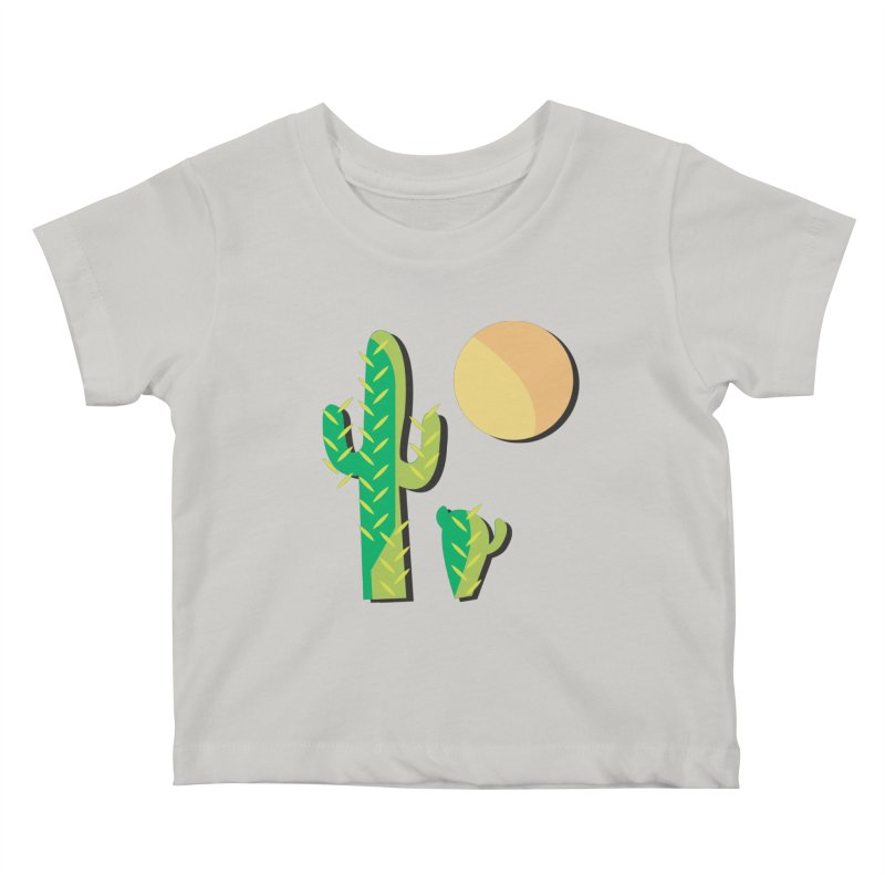 Cactus Kids Baby T-Shirt by Ginger's Shop
