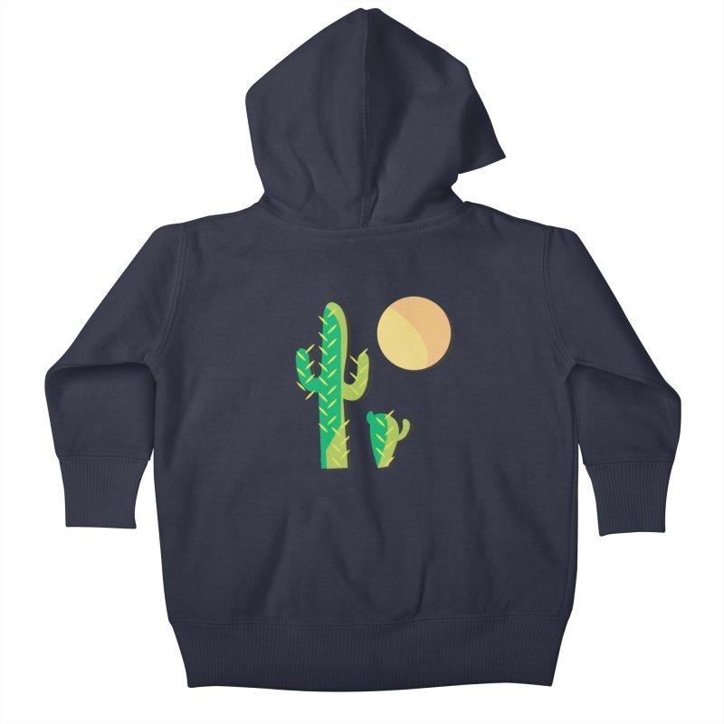 Cactus Kids Baby Zip-Up Hoody by Ginger's Shop