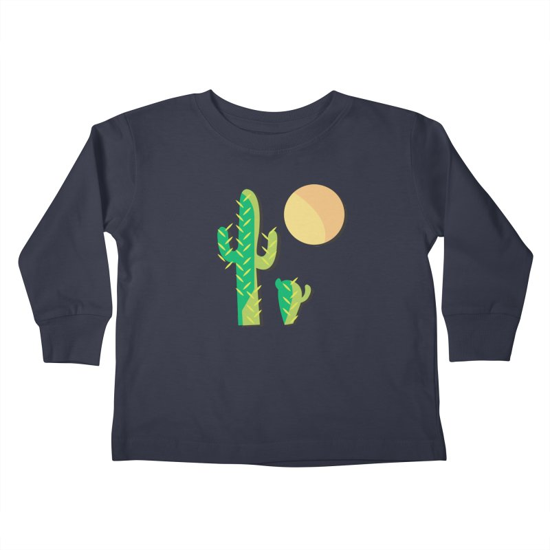 Cactus Kids Toddler Longsleeve T-Shirt by Ginger's Shop