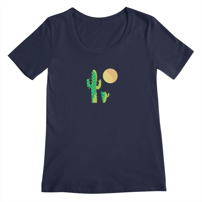 Cactus Women's Scoopneck by Ginger's Shop
