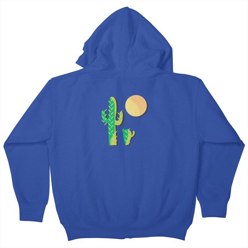 Cactus Kids Zip-Up Hoody by Ginger's Shop