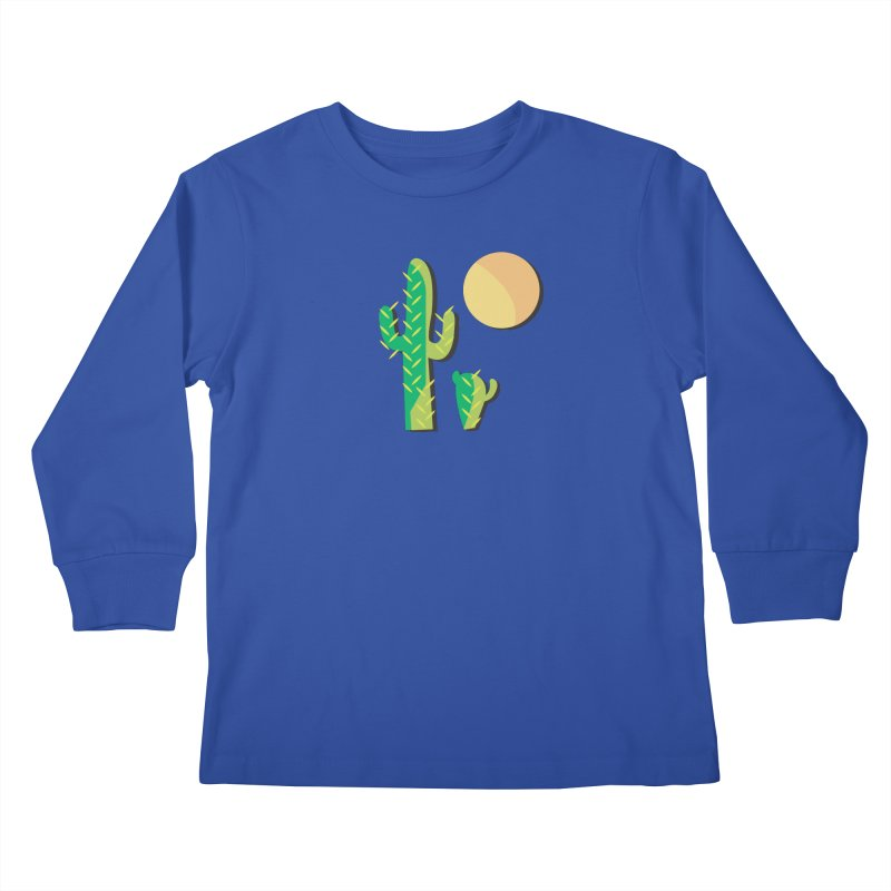 Cactus Kids Longsleeve T-Shirt by Ginger's Shop