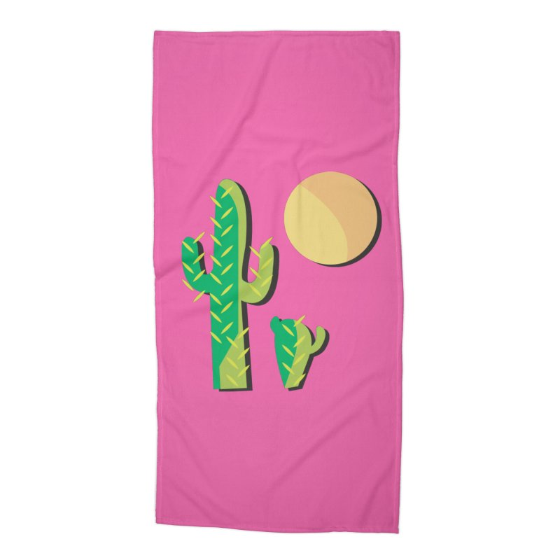Cactus Accessories Beach Towel by Ginger's Shop