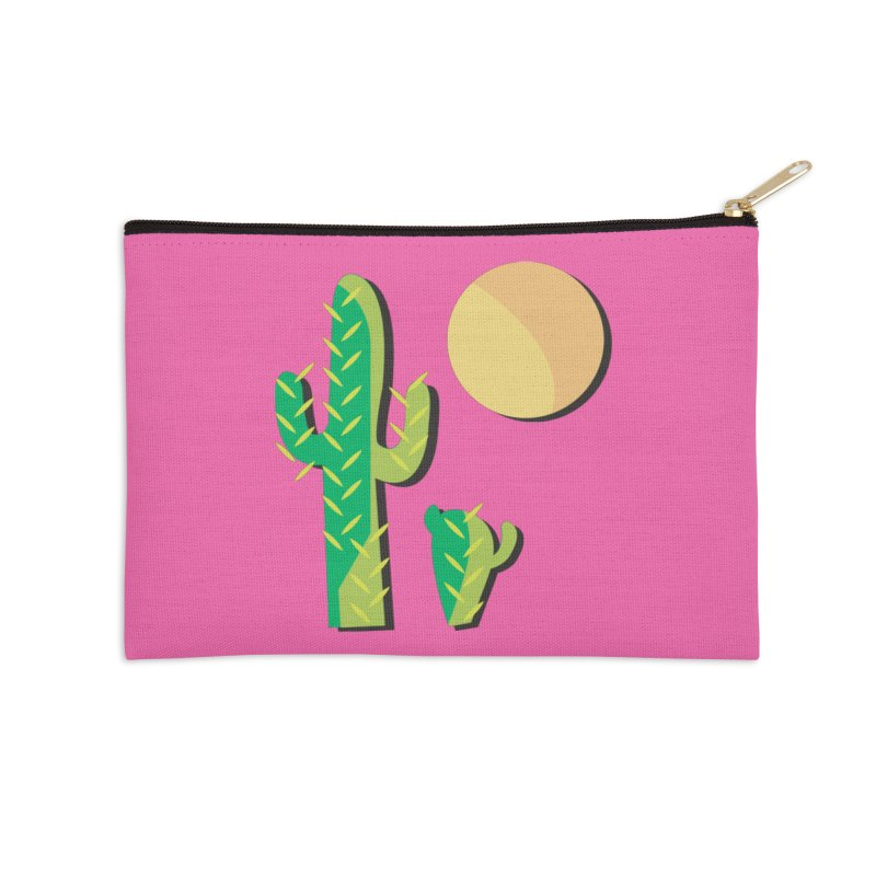 Cactus Accessories Zip Pouch by Ginger's Shop