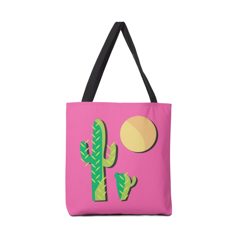 Cactus Accessories Bag by Ginger's Shop