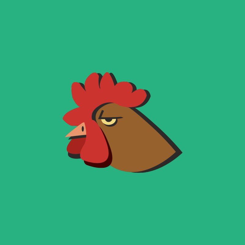 The Rooster by Ginger's Shop