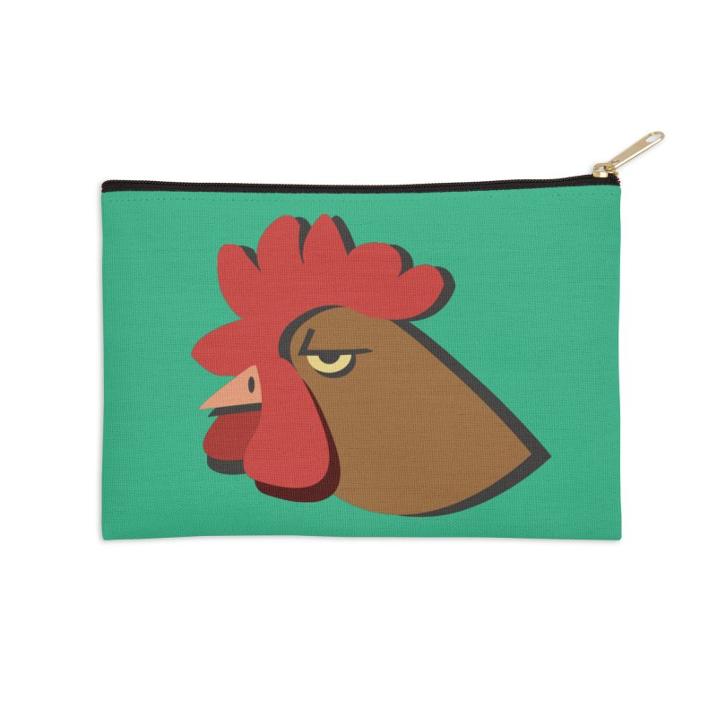 The Rooster Accessories Zip Pouch by Ginger's Shop