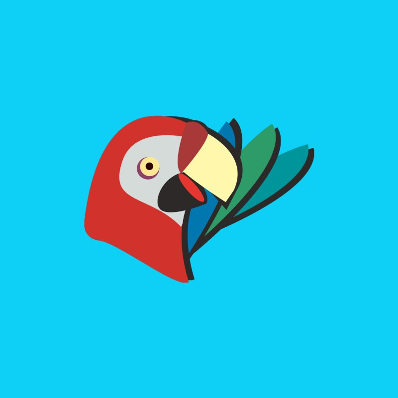 The Parrot by Ginger's Shop