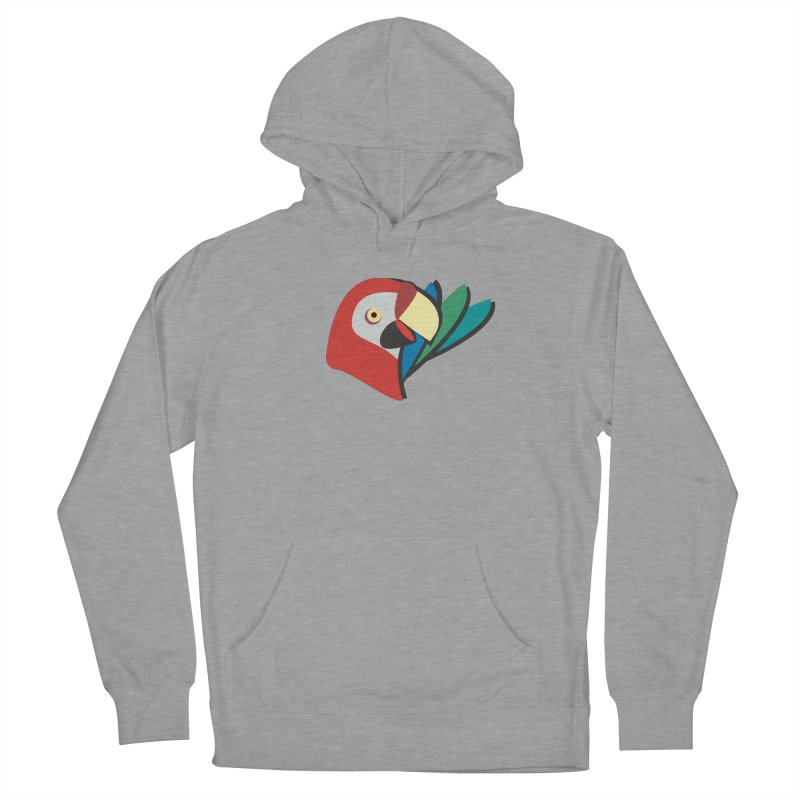 The Parrot Men's Pullover Hoody by Ginger's Shop