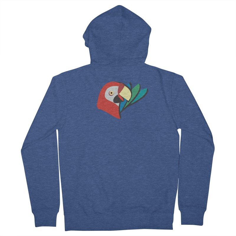 The Parrot Women's Zip-Up Hoody by Ginger's Shop