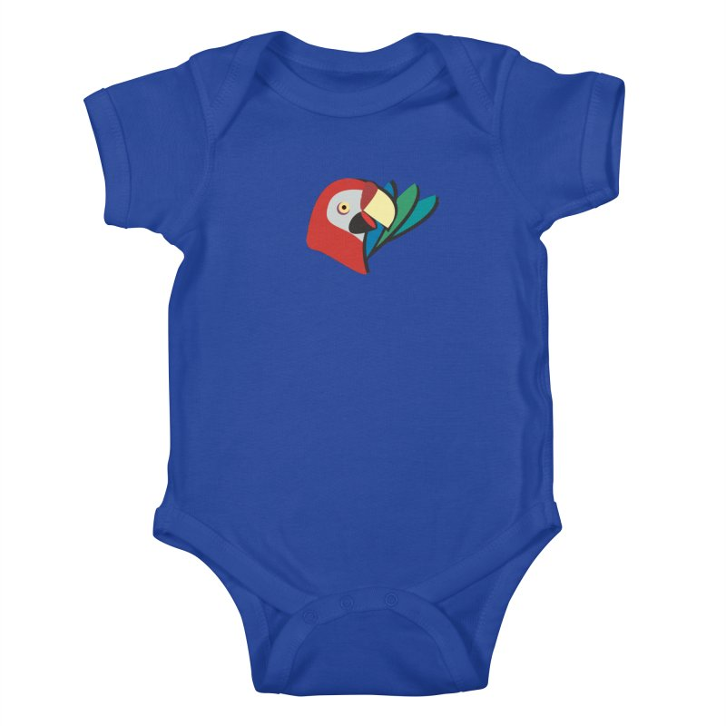 The Parrot Kids Baby Bodysuit by Ginger's Shop