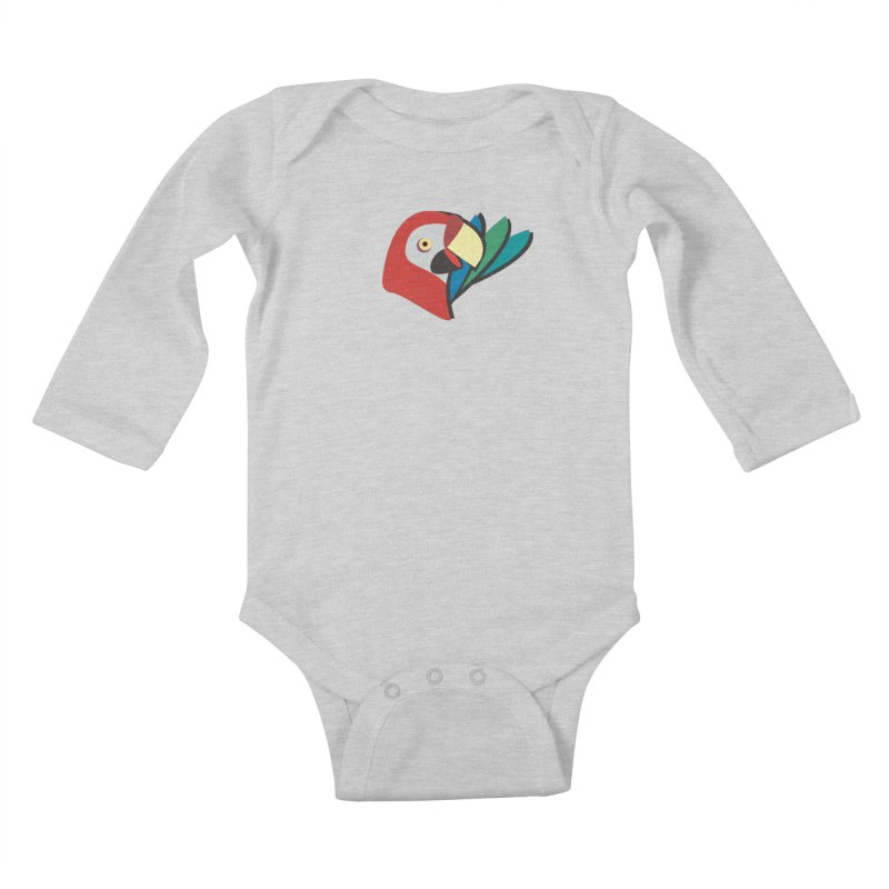 The Parrot Kids Baby Longsleeve Bodysuit by Ginger's Shop