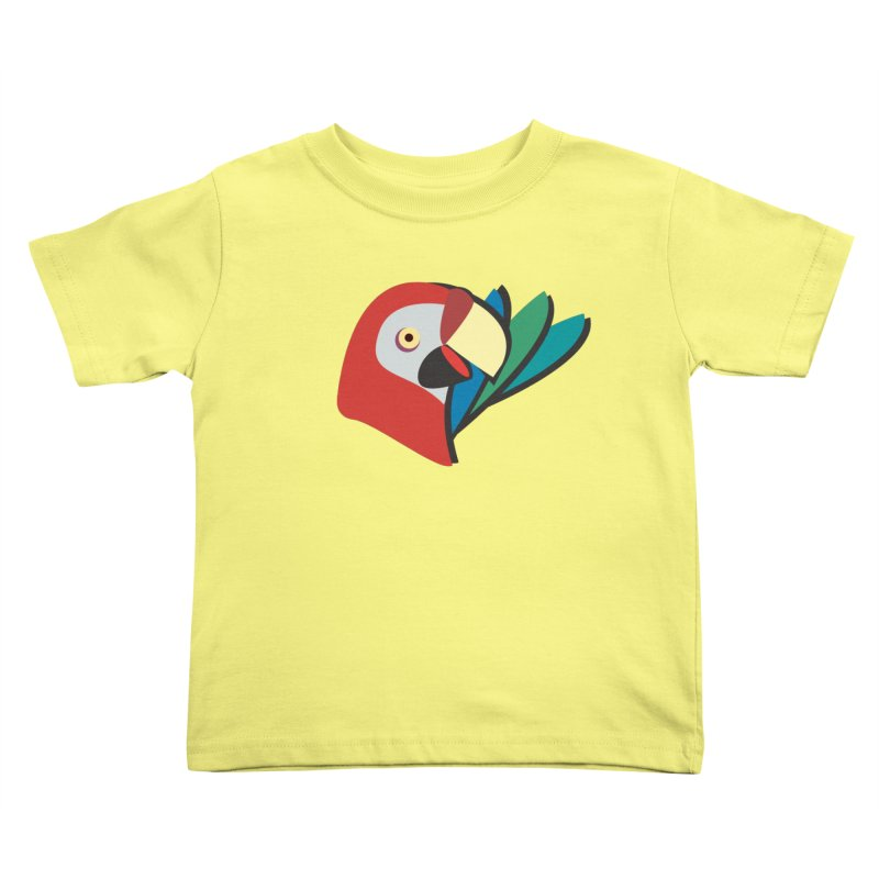 The Parrot Kids Toddler T-Shirt by Ginger's Shop