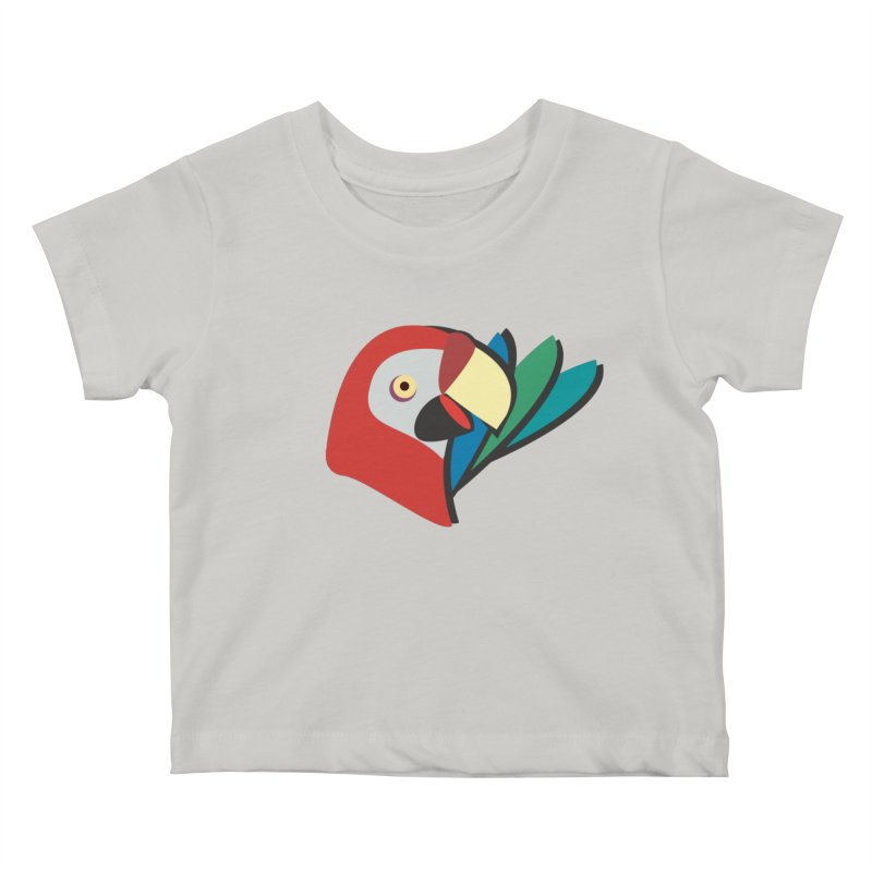 The Parrot Kids Baby T-Shirt by Ginger's Shop
