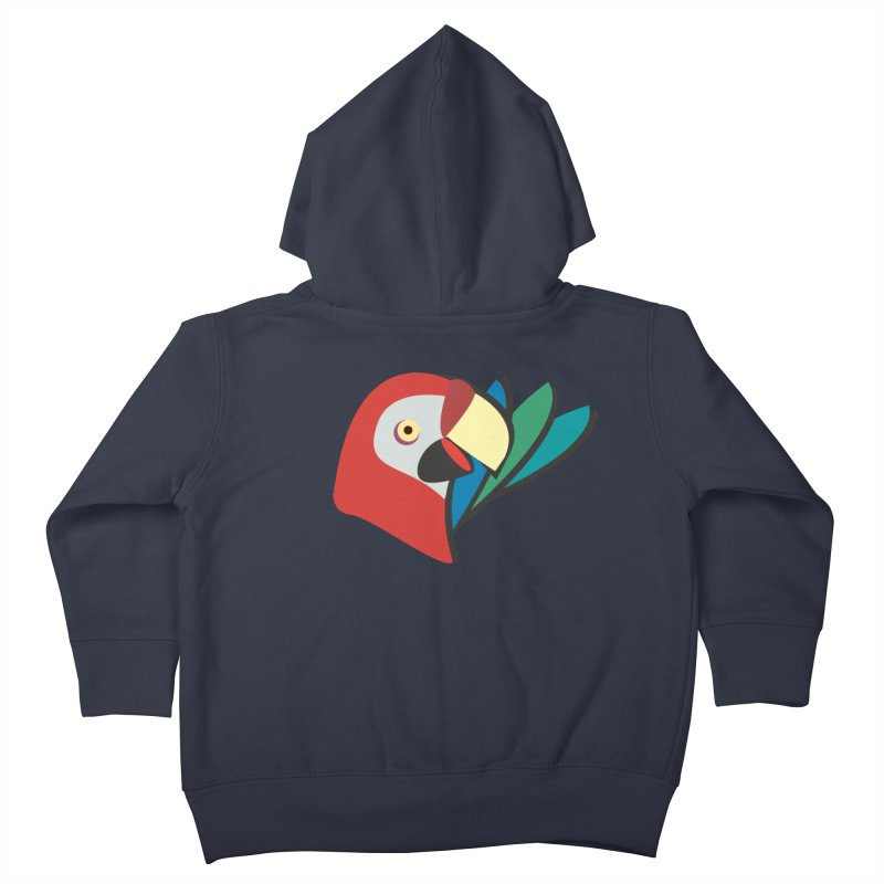 The Parrot Kids Toddler Zip-Up Hoody by Ginger's Shop