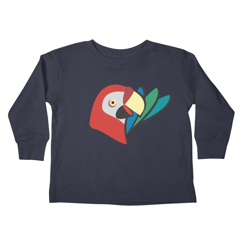 The Parrot Kids Toddler Longsleeve T-Shirt by Ginger's Shop