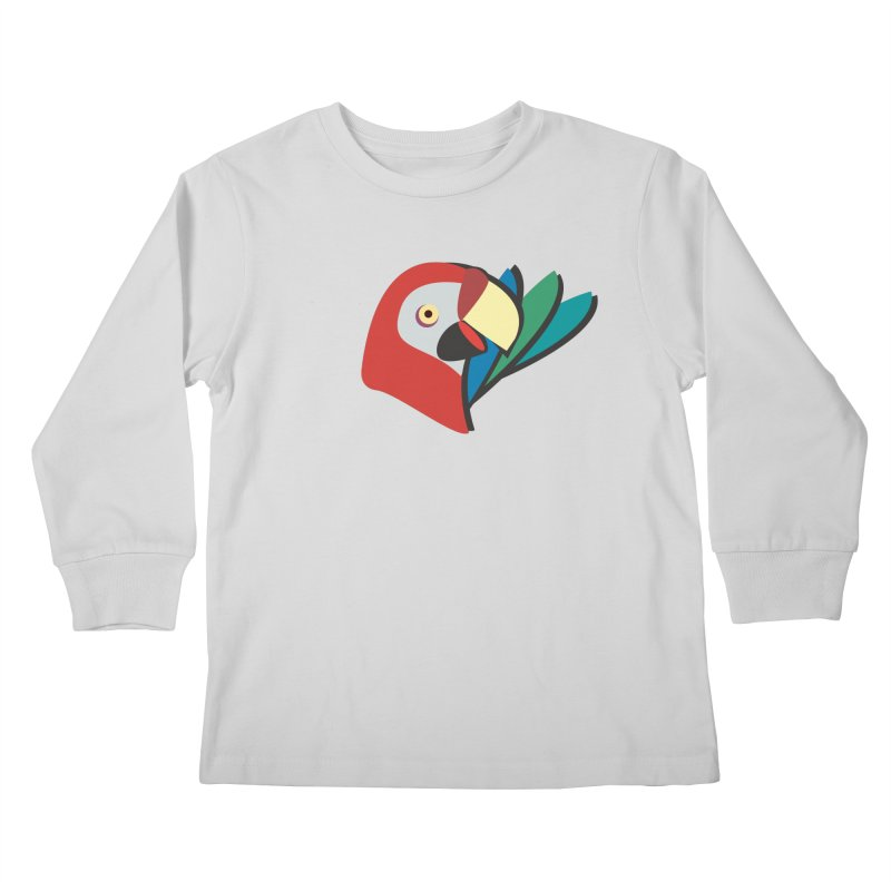 The Parrot Kids Longsleeve T-Shirt by Ginger's Shop