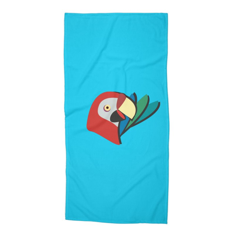 The Parrot Accessories Beach Towel by Ginger's Shop