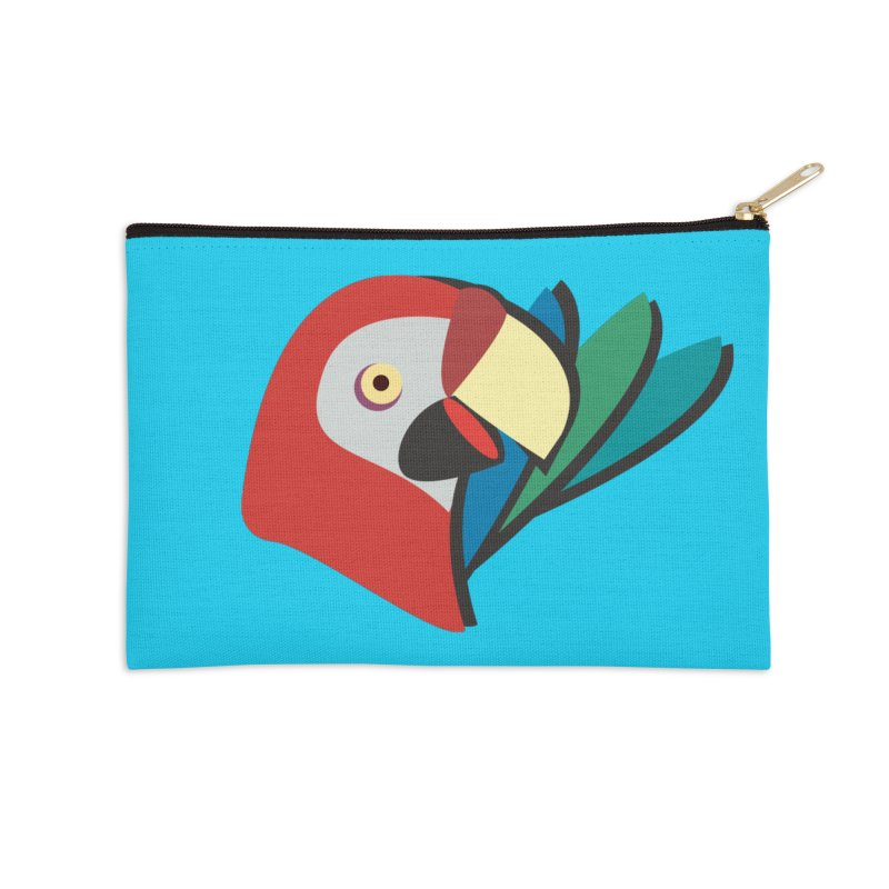 The Parrot Accessories Zip Pouch by Ginger's Shop