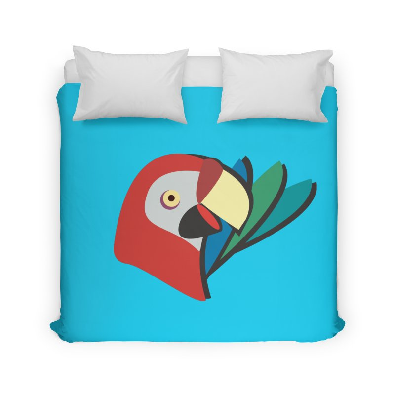 The Parrot Home Duvet by Ginger's Shop