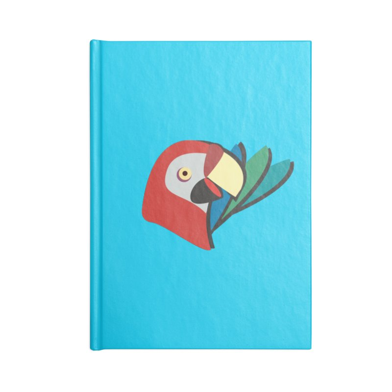 The Parrot Accessories Notebook by Ginger's Shop