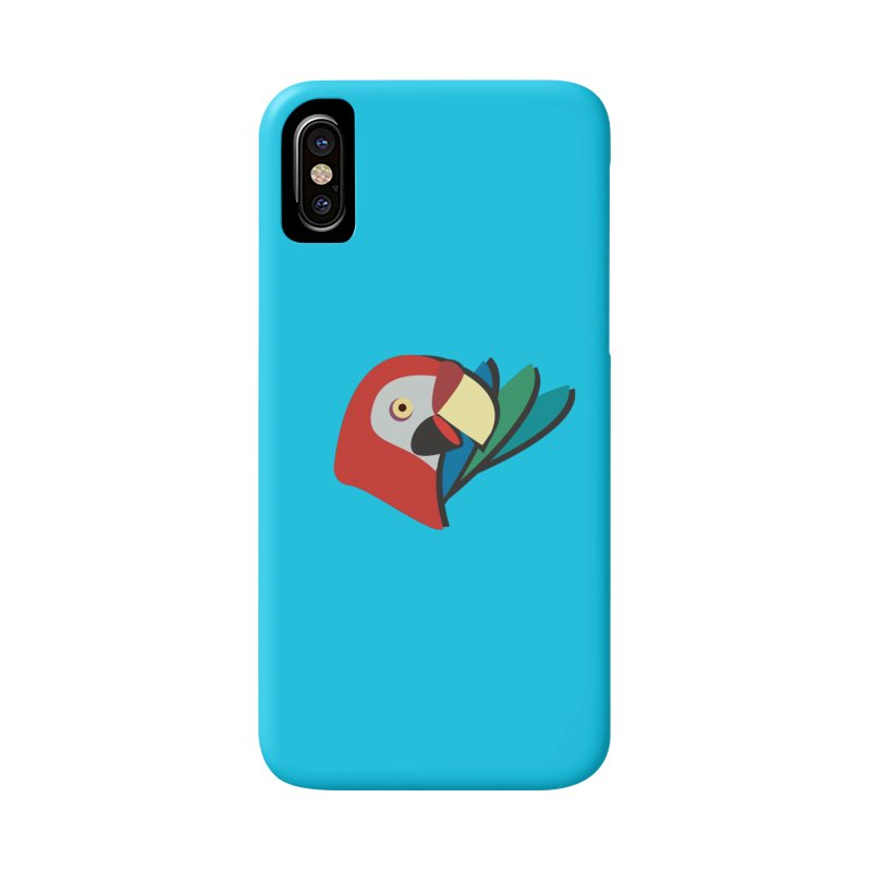 The Parrot Accessories Phone Case by Ginger's Shop