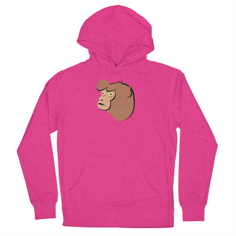 The Monkey Men's Pullover Hoody by Ginger's Shop