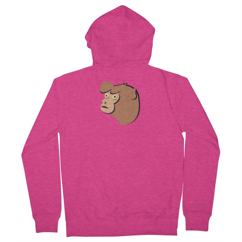 The Monkey Women's Zip-Up Hoody by Ginger's Shop