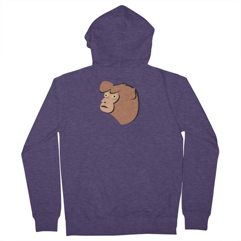 The Monkey Men's Zip-Up Hoody by Ginger's Shop