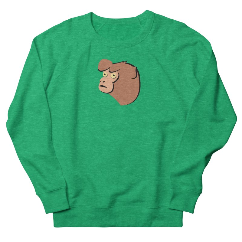 The Monkey Women's Sweatshirt by Ginger's Shop