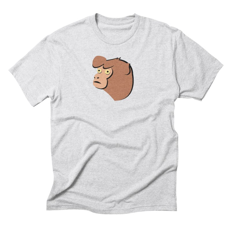 The Monkey Men's Triblend T-Shirt by Ginger's Shop