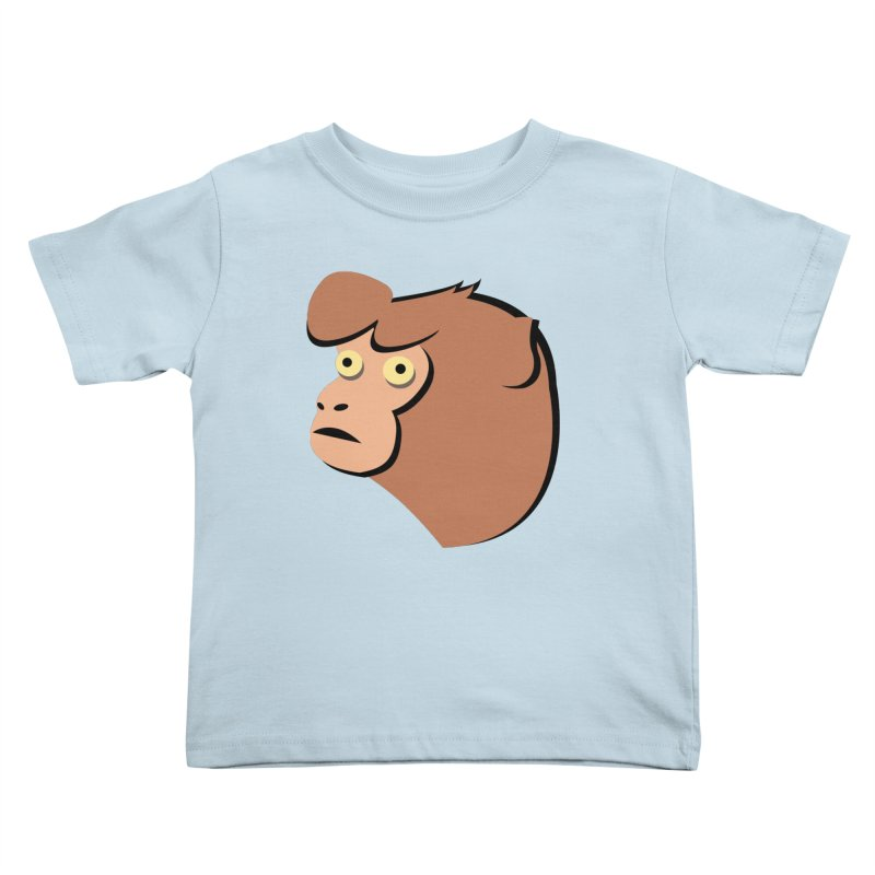 The Monkey Kids Toddler T-Shirt by Ginger's Shop