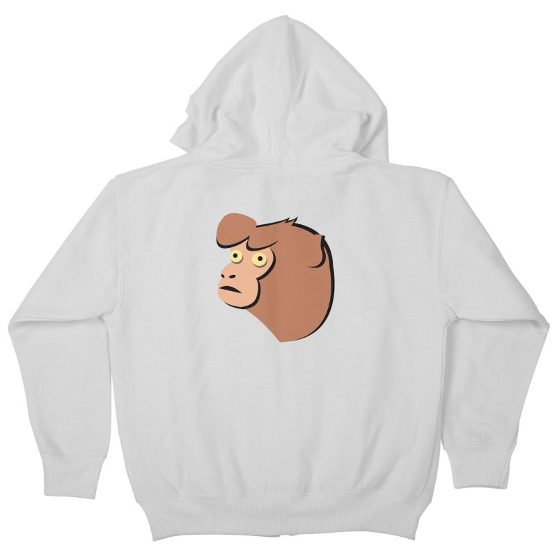 The Monkey Kids Zip-Up Hoody by Ginger's Shop