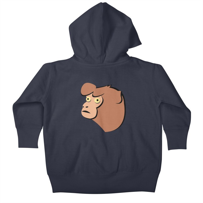 The Monkey Kids Baby Zip-Up Hoody by Ginger's Shop