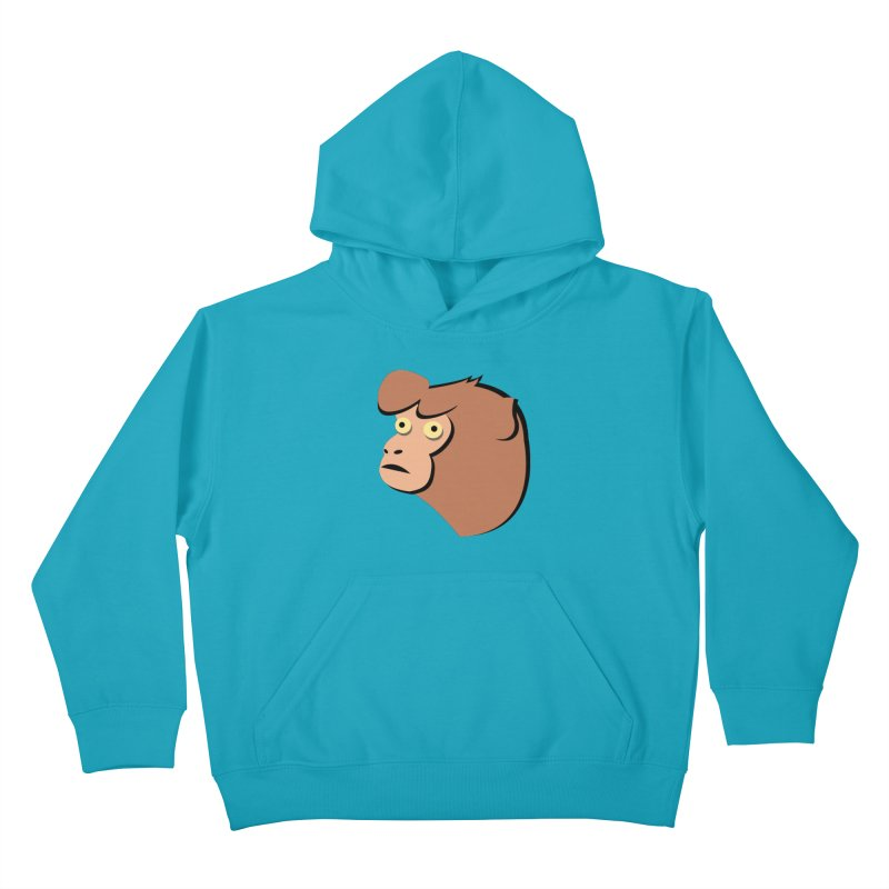 The Monkey Kids Pullover Hoody by Ginger's Shop
