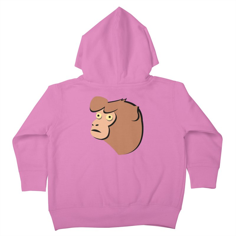 The Monkey Kids Toddler Zip-Up Hoody by Ginger's Shop