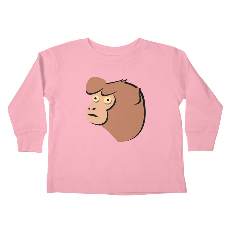 The Monkey Kids Toddler Longsleeve T-Shirt by Ginger's Shop