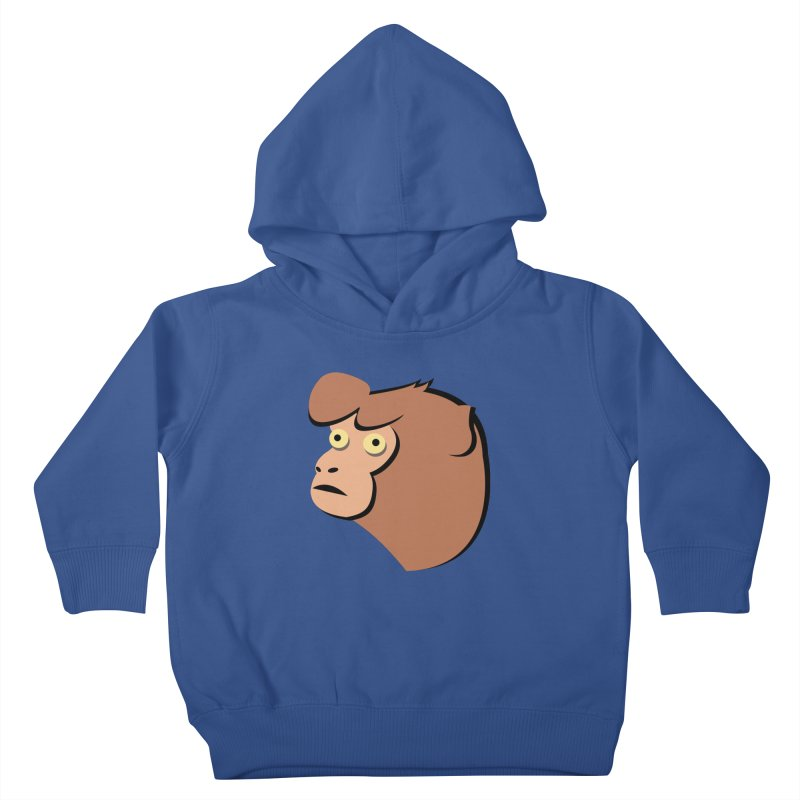 The Monkey Kids Toddler Pullover Hoody by Ginger's Shop
