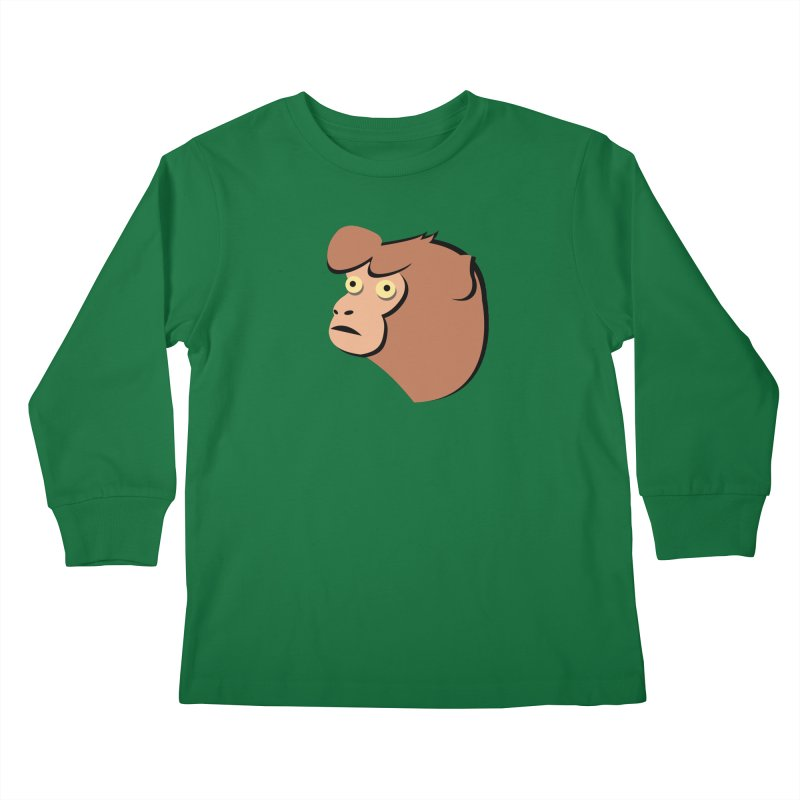 The Monkey Kids Longsleeve T-Shirt by Ginger's Shop